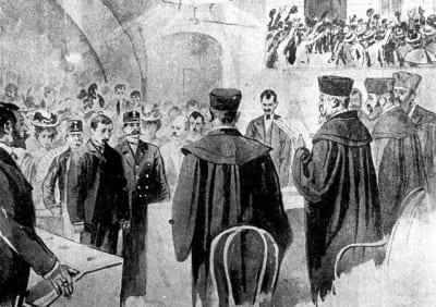 Суд над Леопольдом Хилзнером
